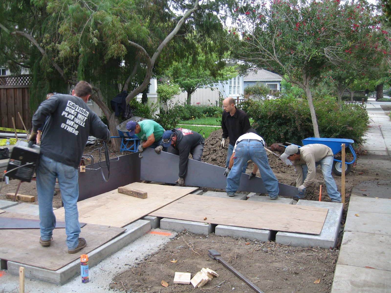 How To Install Corten Steel Retaining Wall Garden