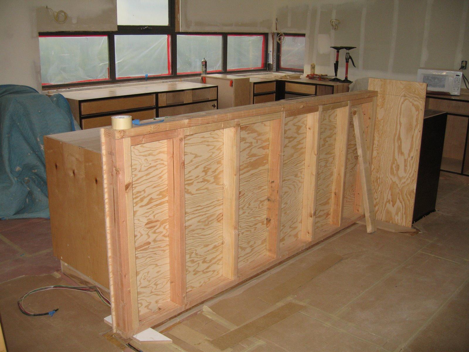 Floating Island Base Kitchen Cabinet : Pope street modern scratch coat more cabinets